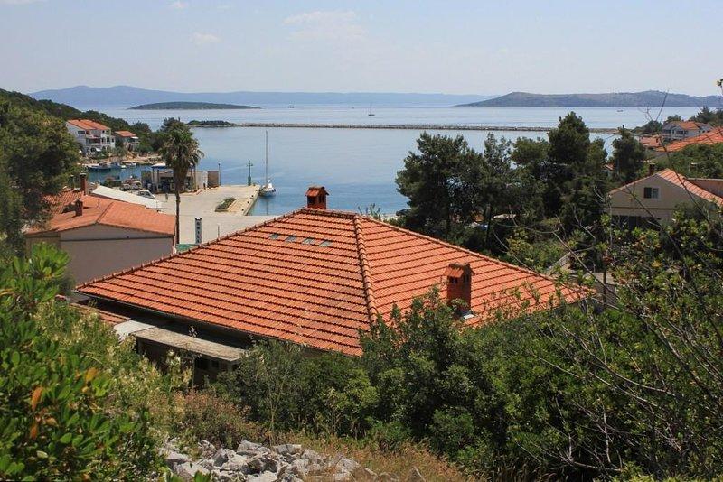 Four bedroom apartment Zaglav, Dugi otok (A-8146-a), holiday rental in Luka