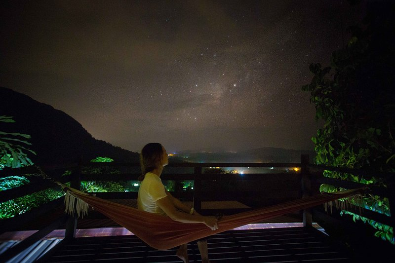 Starry View from balcony