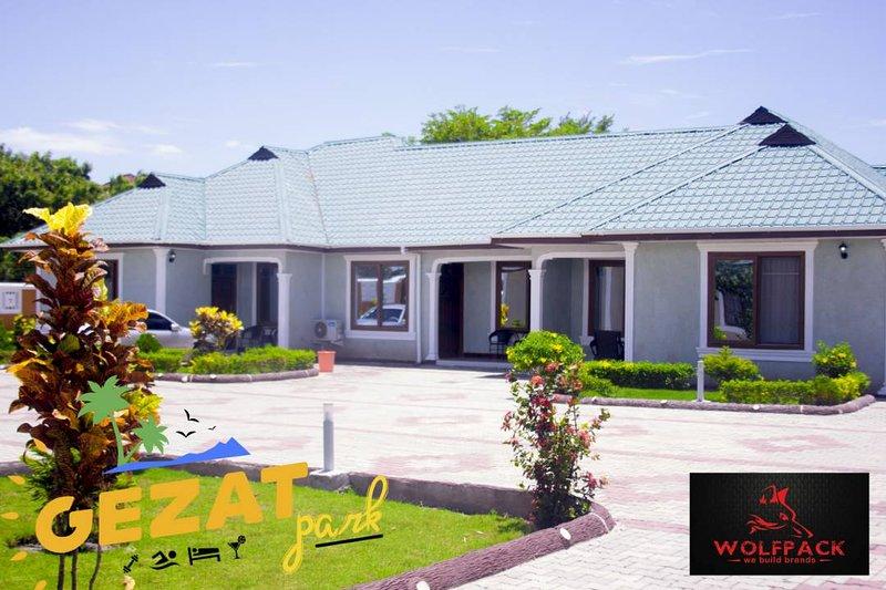 Gezat Park Hotel and Apartments, aluguéis de temporada em Bagamoyo
