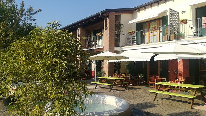 Appartamento per 4 Persone in Residence Ca' dei Dogi, location de vacances à Noale
