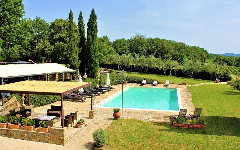 Villa Petrea, alquiler de vacaciones en Bucine