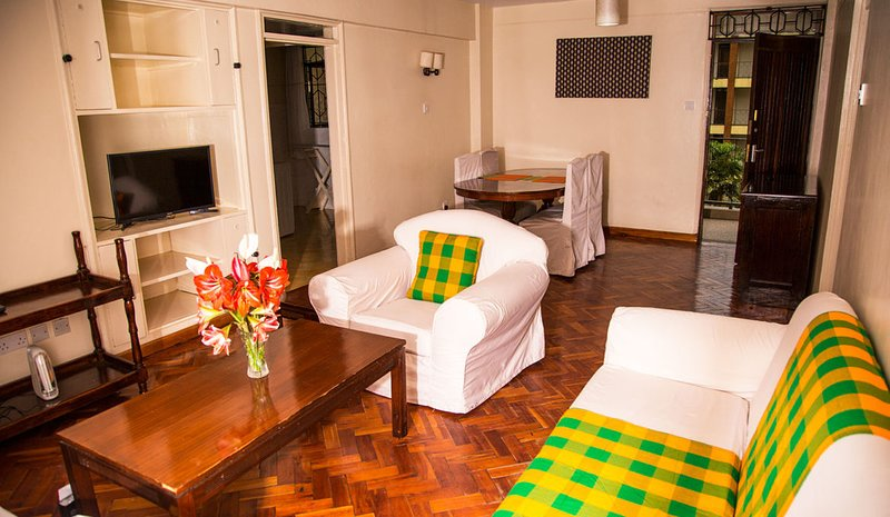 Njema Court Apartments - Two Bedroom Apartment 2, holiday rental in Nairobi