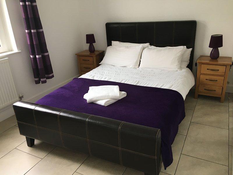 La sala púrpura - abajo y al lado del cuarto de ducha