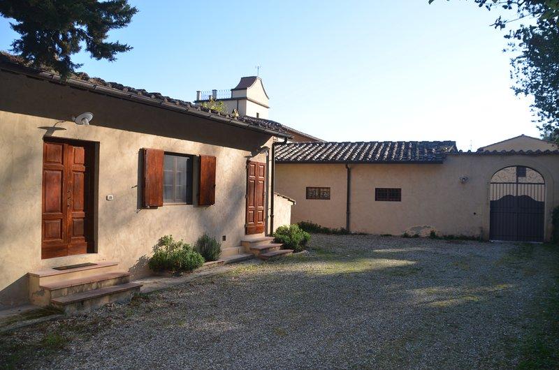 Organic Wine & Olive Estate - Apartment Bosco, vacation rental in San Polo in Chianti