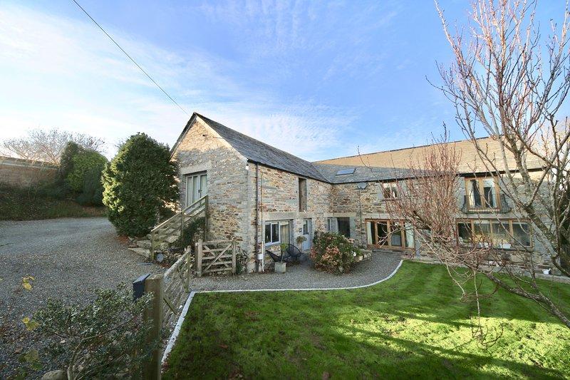 Skyber Barn, vacation rental in Crackington Haven
