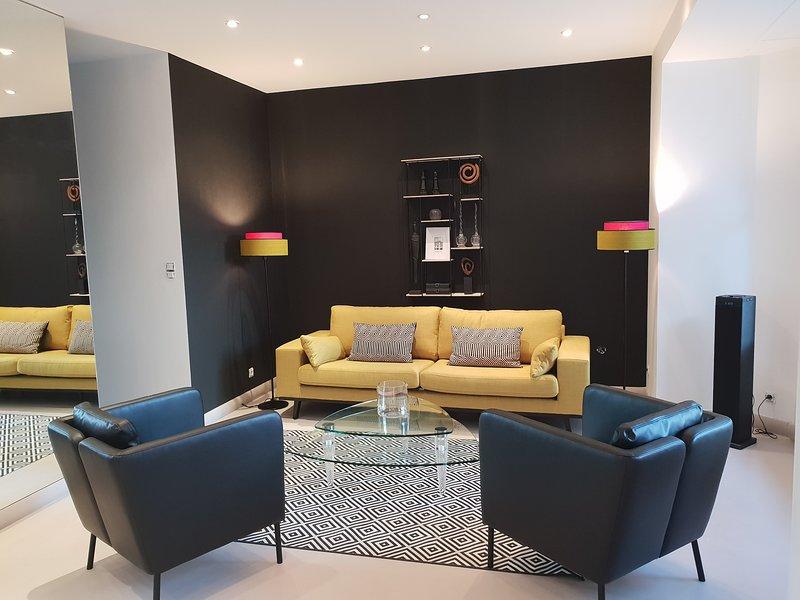 """Villa """"Osiris"""" Strand Benoit La Baule. 1e verdieping, het appartement, installeren, je bent thuis!"""