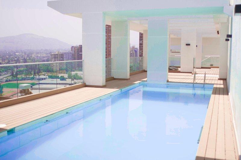 CC  710· Increíble departamento! SCL Las Condes, Cerro Colorado Parque Arauco, holiday rental in Santiago
