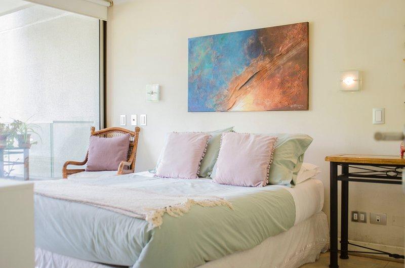 CC 206 SCL Las Condes PARK  TOP FRONT PARQUE ARAUCANO TOP CHOICE, holiday rental in Chicureo