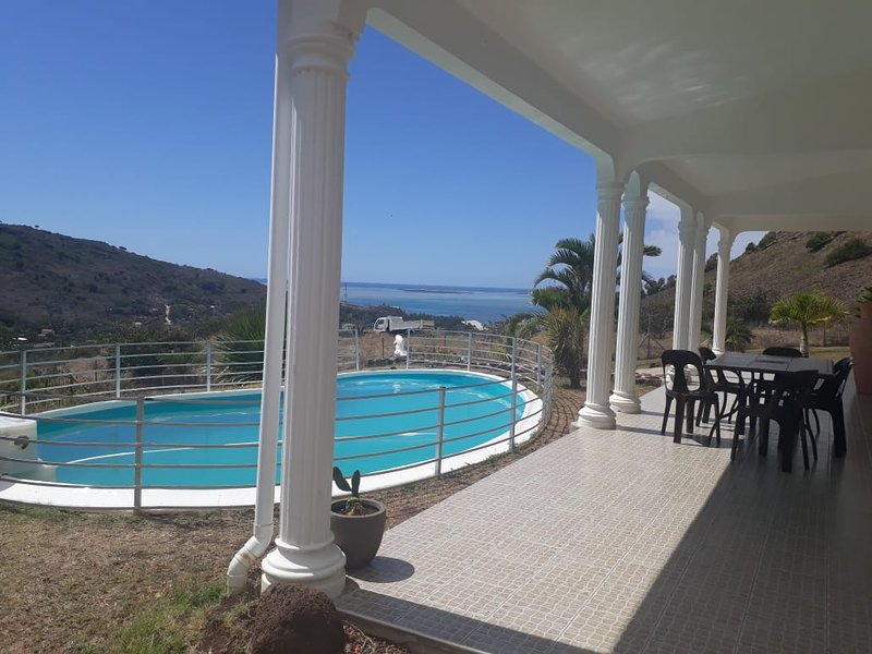 Villa Rodr'Island au sud de lîle Rodrigues, location de vacances à Coromandel
