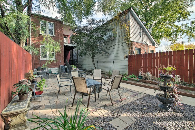You're sure to love utilizing the shared patio!