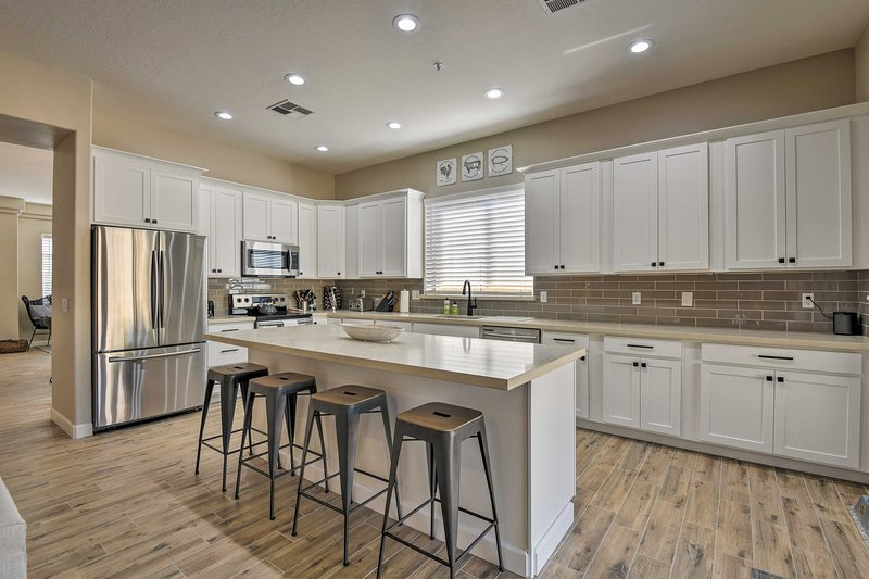 You'll love the modern and inviting interior with high-end finishes.