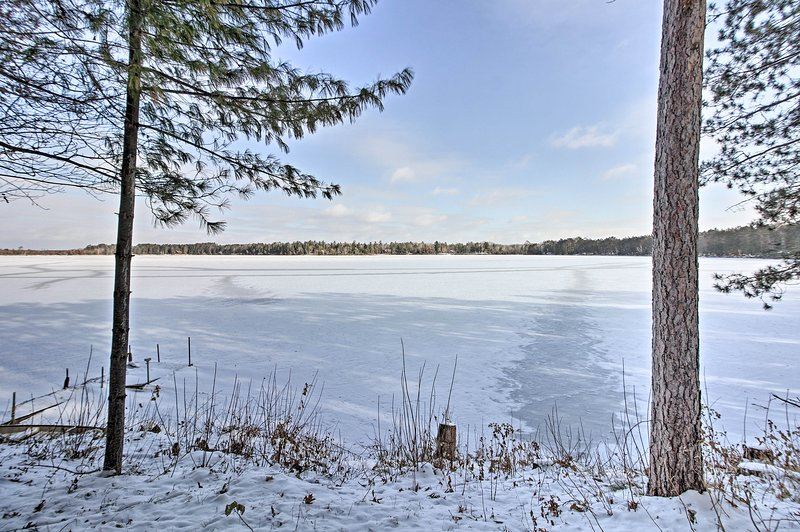 Go boating in the summer and ice fishing in the winter!
