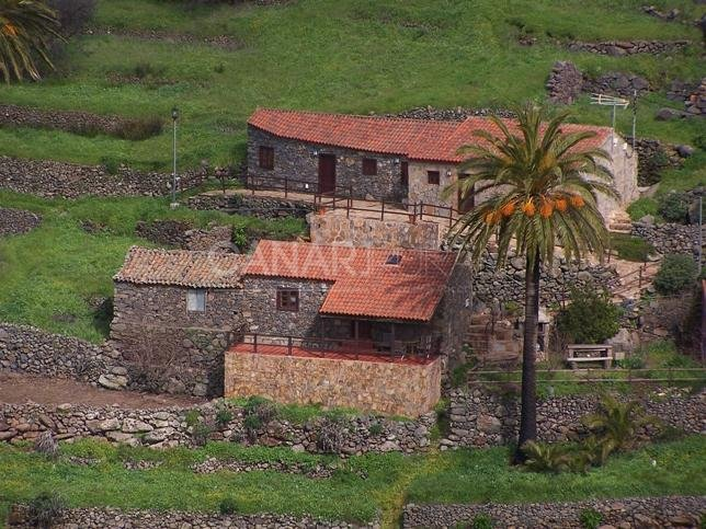 Charming Country house Vallehermoso, La Gomera, alquiler vacacional en Chipude