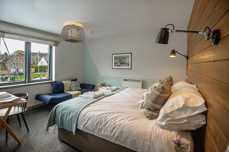 Sleeps 3 (1 double or 2 twin beds and a single sofa bed en-suite shower room.