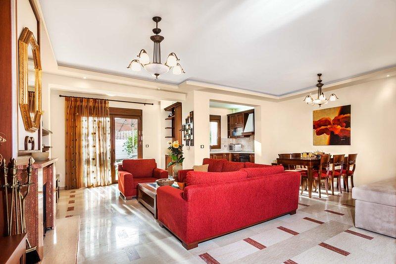 Beach Villa with 3 Bedrooms [W Villas], holiday rental in Pefkohori