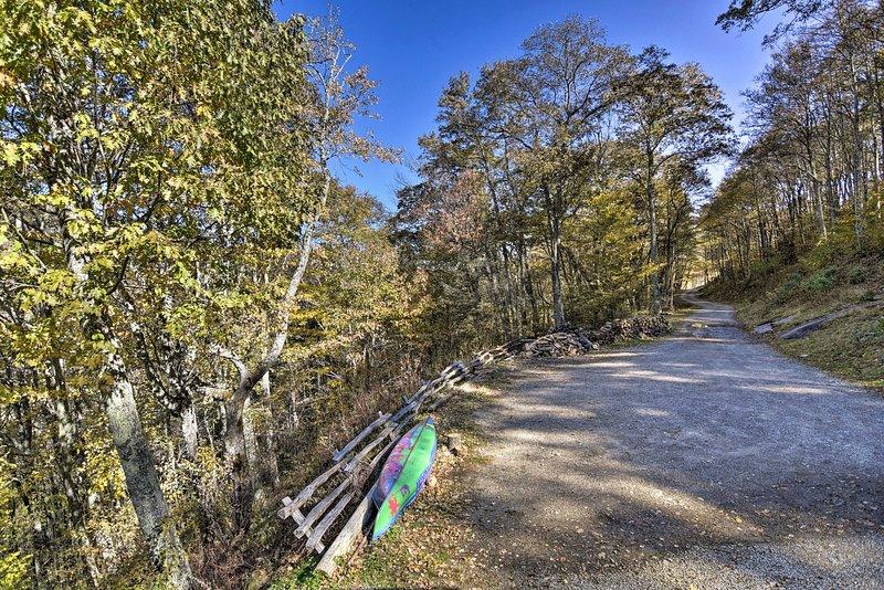 Cataloochee Ski Area is just minutes away!