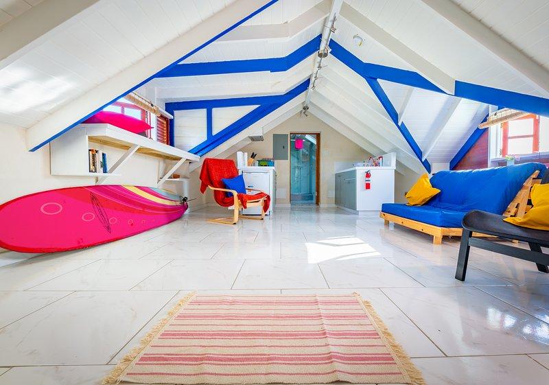 Desert Rose-  South Coast Modern spacious first floor studio  near Oistins., holiday rental in Oistins