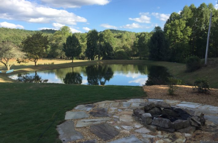 Serenity and Solace on 30 acres off Aska Road