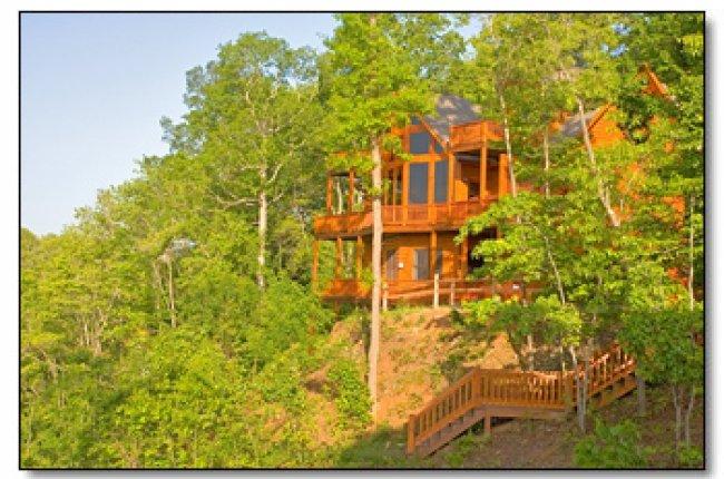 Riverview Lodge ubicado entre hermosos bosques