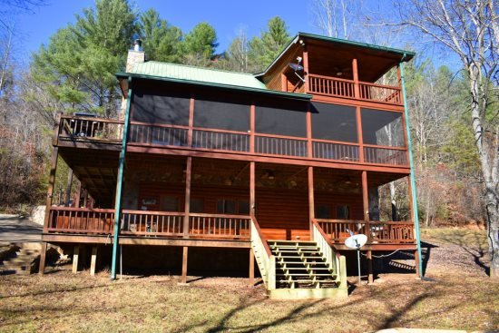 River Escape On The Toccoa 4 Br 3 5 Ba Cabin On The Toccoa River