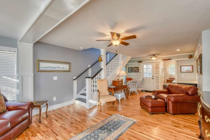 Gorgeous hardwood floors and many design details make this property a very special place.