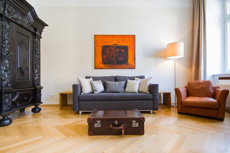 Elegante Qube-Apartments im Herzen von Heidelberg, vacation rental in Schwetzingen