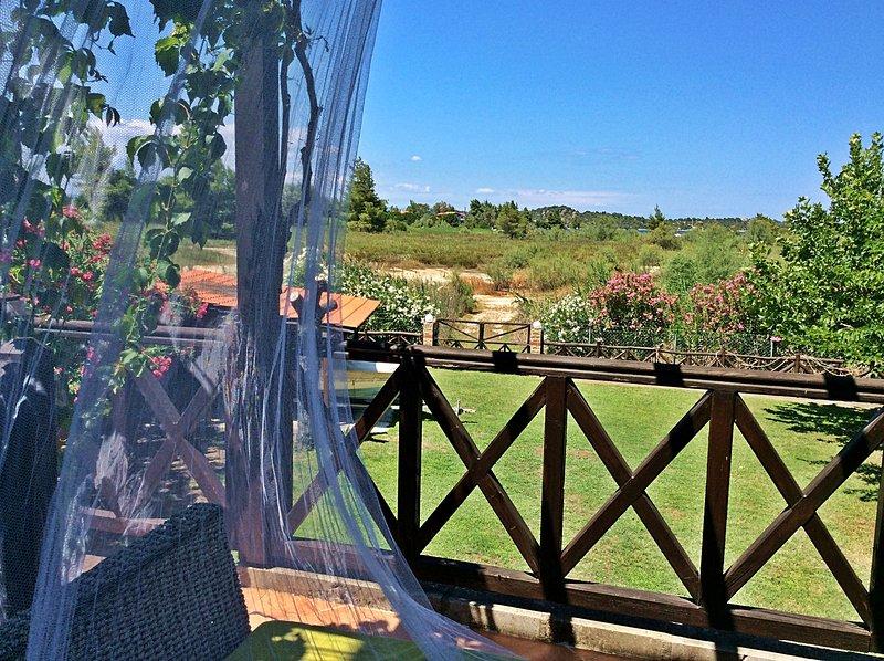 Vista do terraço privado