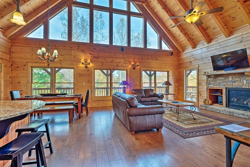 Make this Sevierville vacation rental your home base on your Tennessee escape.
