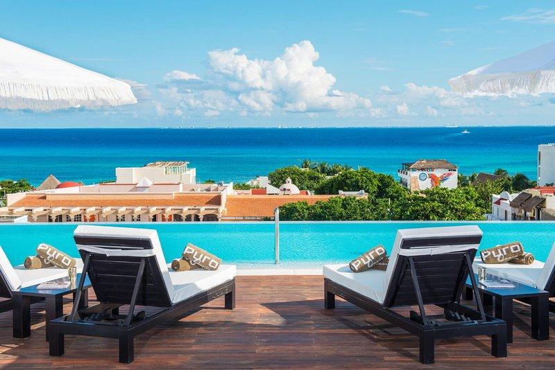 Playa del Carmen Luxury chic 5 star boutique hotel in the heart of the city, location de vacances à Playa del Carmen