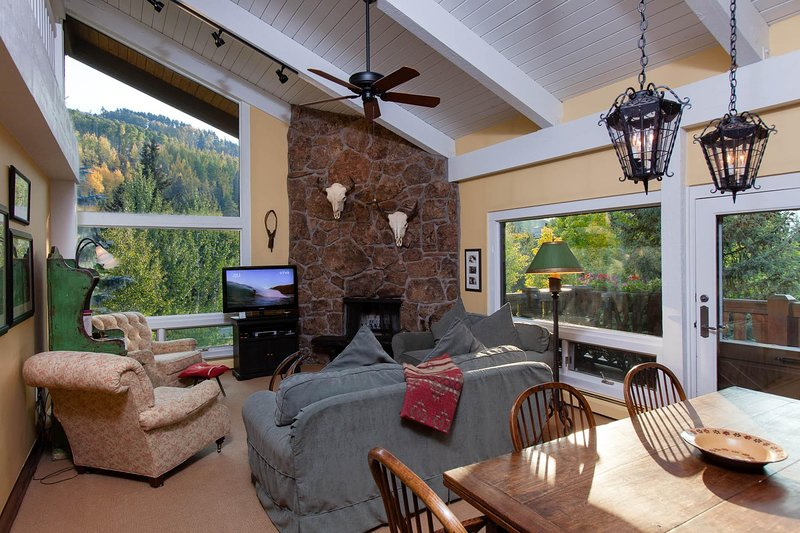 Edelweiss 405: two bedroom/loft condominium - premier location Vail Village, holiday rental in Minturn
