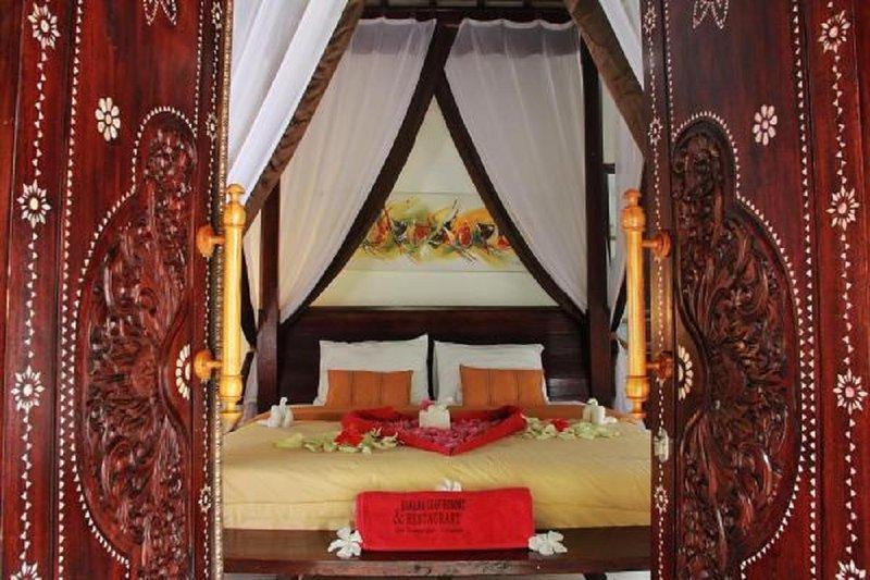 Banana Leaf Resort Bedroom Entrance