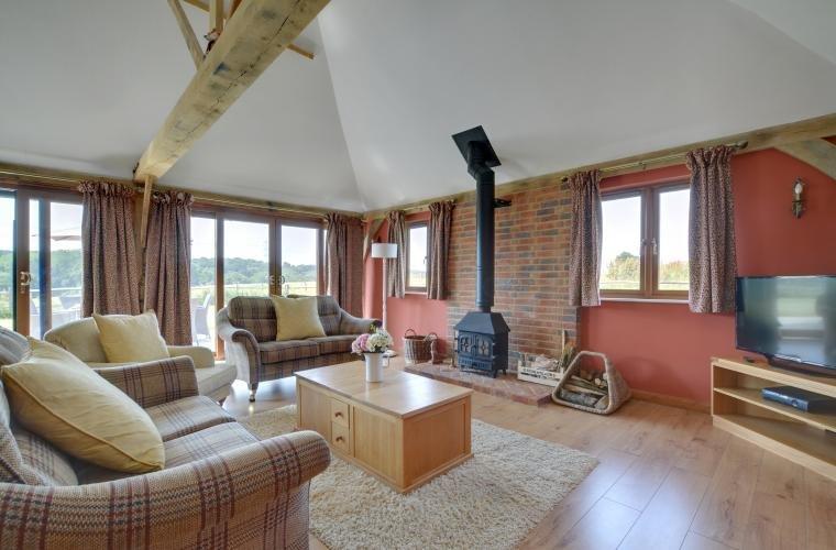 Reynards Barn - Farm Stay, vakantiewoning in Brede