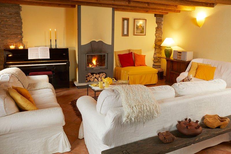 LA TERRASSE D'OZEIN - VISTA MONTE BIANCO, vacation rental in Valsavarenche
