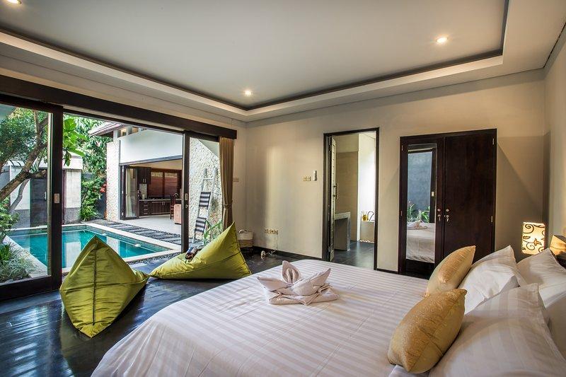 Dormitorio 1 con baño privado.