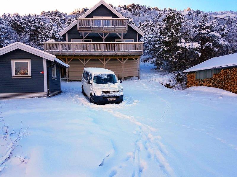 Sogno invernale Norvegia