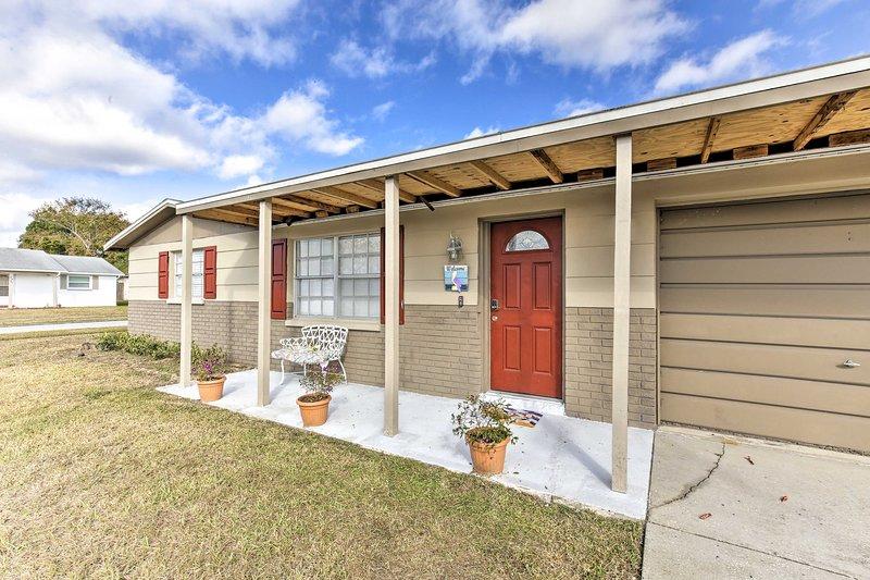 ¡Esta casa de New Port Richey es el lugar perfecto para su próxima escapada a Florida!
