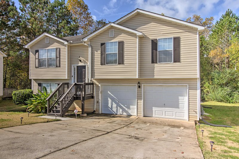 Located in Decatur, this home is minutes from downtown Atlanta.