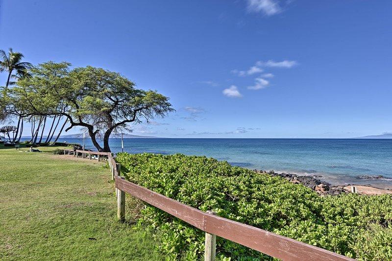 Kamaole Beach Park è proprio dall'altra parte della strada!