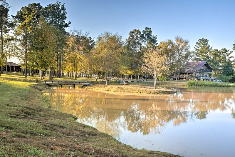 Enjoy catch-and-release fishing in the 3 off-site ponds.