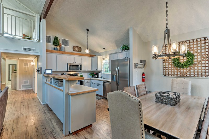 Up to 8 lucky guests will enjoy this charming and inviting abode!