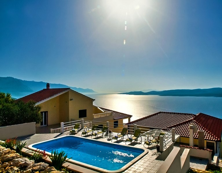 VILLA MASLINA - LOKVA with 5 bedrooms, 4 bathrooms and private pool