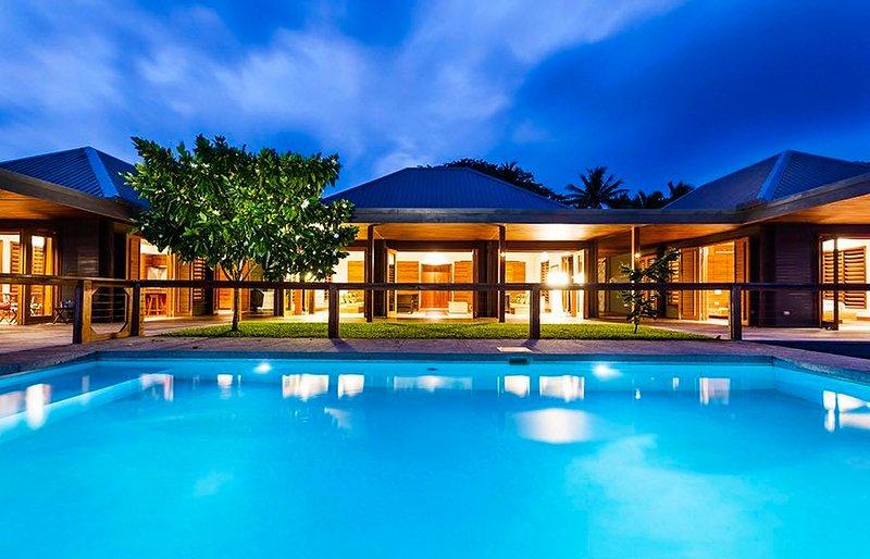 Luxury villa designed by Australian architect Madeleine Blanchfield for multigenerational adventures