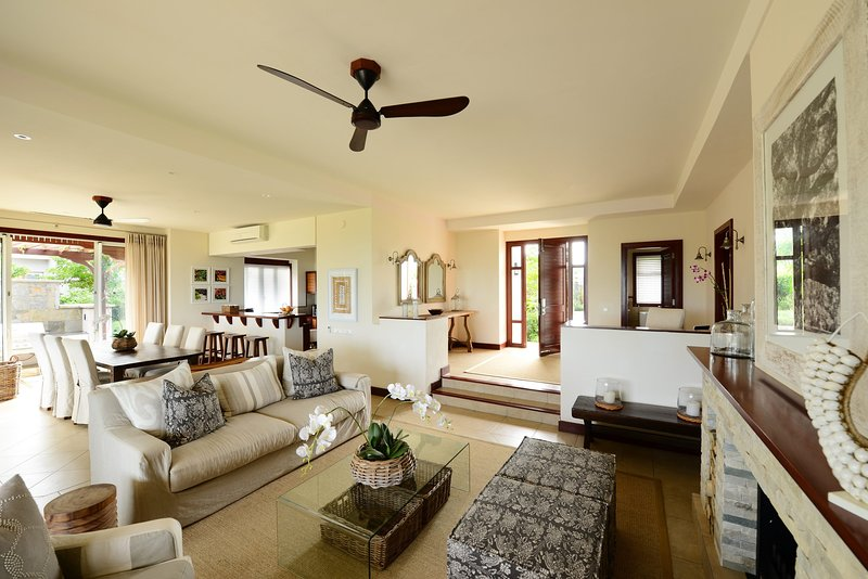 You will love the spacious and open living area