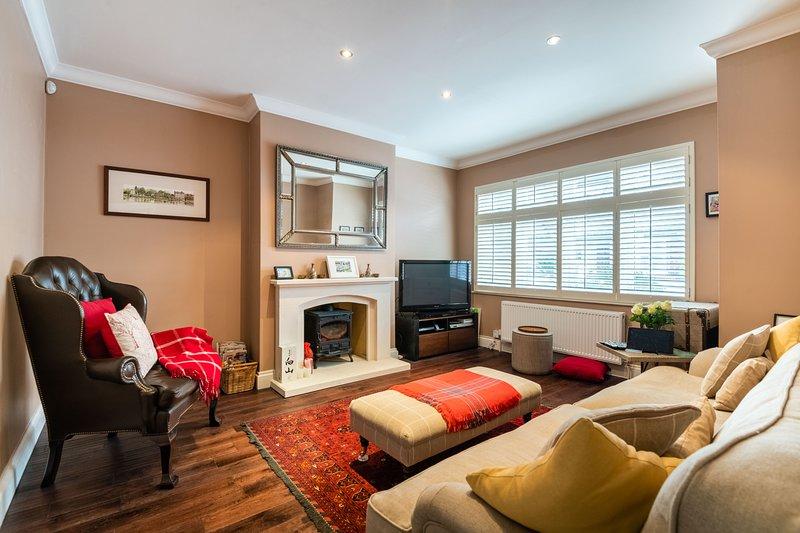 Modern Richmond Home near the River Thames, aluguéis de temporada em Richmond-upon-Thames