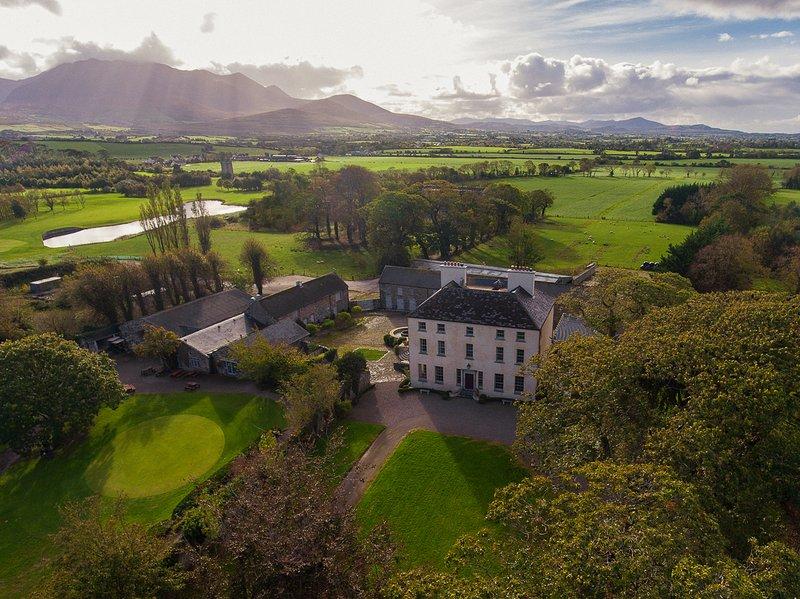 Churchtown House, Kerry, Ireland, Reeks District, MacGillicuddy Reeks, holiday rental in Killarney