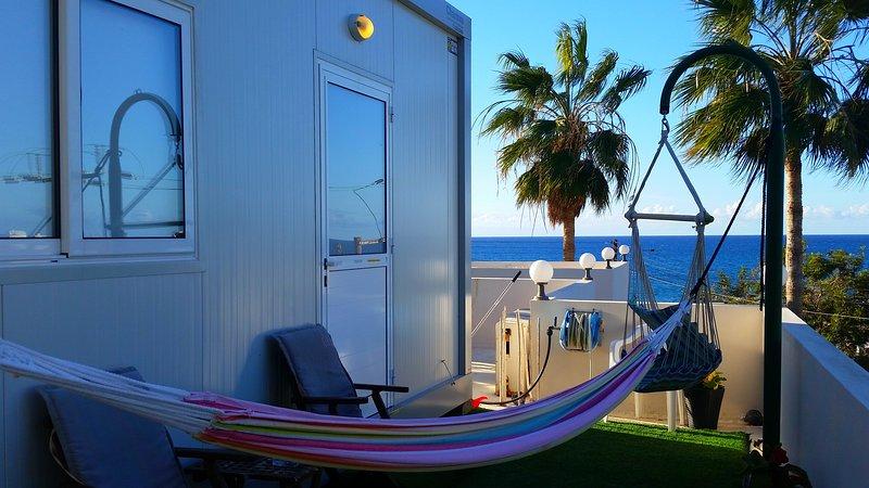 Studio 2nd Floor near the sea 18 sq.meters - Astrofegia Apartments, holiday rental in Nea Dimmata