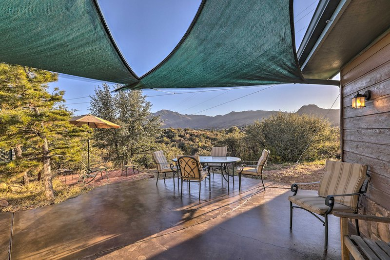 You'll find plenty of spots to take in the views from this vacation rental home.