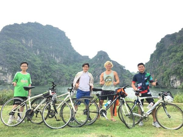 have a wonderful riding in Trang An Complex Lanscape