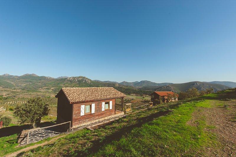 La Brizna casa Blanca, alquiler de vacaciones en Castilblanco