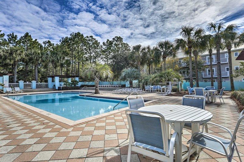 Situato nel Gulf Place Carribean, questo condominio ha accesso a 2 piscine comunitarie.